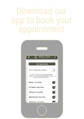 Download our appointment app
